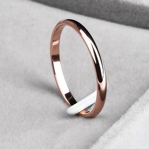 Jewelry - PREVIEW Rose Gold Stainless Steel Wedding Ring